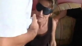 New Housewife Fucked On The Balcony By Her Husband