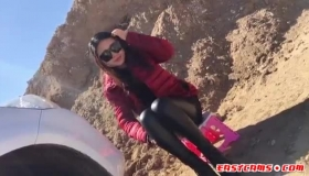 Asian Fragrance Girl Pussy And Ass Fingered For Pleasure