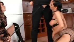 Asian Sex Slaves Are Getting Fucked From The Back And Enjoying Every Second Of It