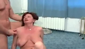 BDSM Cougar With Huge Tits Wants To Fuck Her Neighbor Like No Other, With Her
