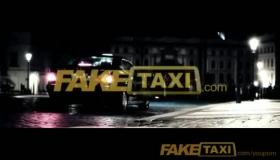 Sexy Blonde Cab Driver Sucks Cock On Driver