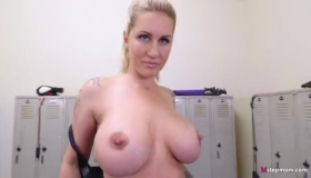 Big Ass Milf Is Fucking Her Young Neighbor While Her Husband Is Out Of Town, All Day