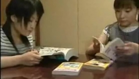 Sexy Japanese Student Teaching A Lesson To Her Musi