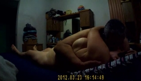 Chubby Mature Sucks Cock And Jerk-off On The Floor