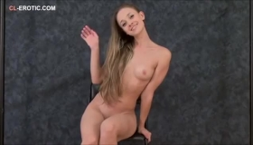 Flexible Girl, Amber Cali Is In The Clinic Playing With Her Pussy All Day