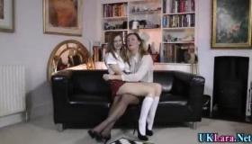 Lara Latex Babe With Big Natural Tits Gets Pumped