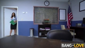 Busty Secretary Gets Pumped In The Office