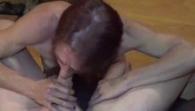 Two Lesbos Deepthroating Maledom