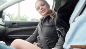 Horny Brunette Jane Gets A Great Whippin