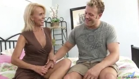 Hot Cougar Nymphags Younger Guy Dick By The Poolside