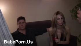 Horny Asian Girl Fucks Two Guys
