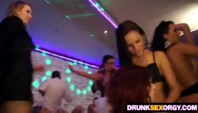 Drunk Party Babes Fucked By Strippers