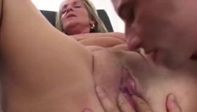 Sexy Brunette Milf Fucking In A Cab