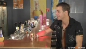 Horny Studs Fucking In A Bar