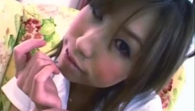 Naughty Japanese Schoolgirl Gets Her Kink Too