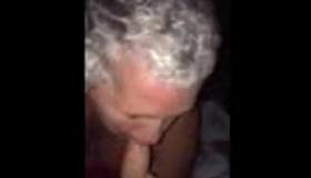 Mature Slut In Glasses Sucking Hooters