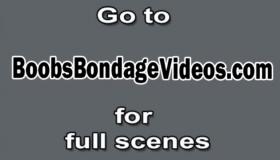 Blindfolded Blonde Fucking With A Webcam Voyeur