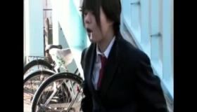 Cute Japanese Schoolgirl Pumped By Old Man