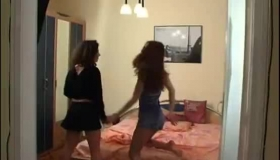 Horny Lesbians In Hard Action