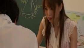 Busty Japanese Teacher Gangbanged By Lucky Students