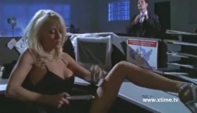 Blonde Girl Is Kneeling In Front Of People And Sucking Their Dicks Like A Pro Whore