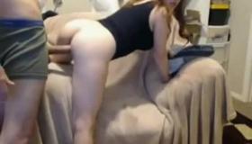 Busty Girlfriend Sexualiya And Sloppy Anal Gang Bang Position