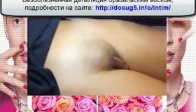 Pigtailed Girl With Black Hair And Facial Hair Is Getting Nailed In Her Bedroom
