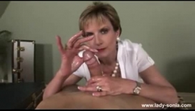Lady Sonia Gets Creampied By A Biker