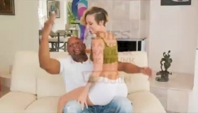 Horny Black Guy Is Fucking Dominica's Tight Pussy Just Because He Likes The Way She Cums