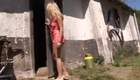 Delicate Blonde Gives An Incredible Blowjob To Her Dude