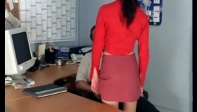 A Petite Secretary In Toying And Trouble