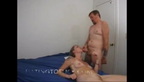 Diamond Foxxx Is Completely Naked, Wide Open And While She Is Was Fucking A Black Guy