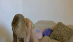 Nerdy Blonde Chick, Jade Jade Was Finally Punished Enough To Be In A Bad Mood