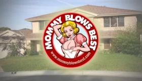 Blonde Milf In A Floral Uniform, Phoenix Marie Is Eagerly Sucking A Big, Black Dick And Getting Doublefucked