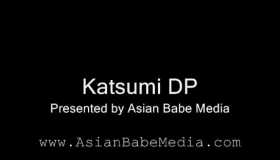 Katsumi Is A Beautiful Blonde Lady Who Likes To Have A Threesome With Two Horny Guys