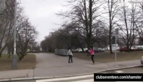 Teens Masturbating In Public