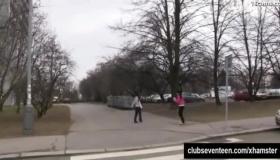 Teens Masturbating In Public