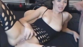 Stunning Milf Fucked By Two Old Men In The Kitchen