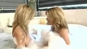 Horny Twins Fucked By A First Timer