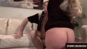 Blondetattoo Hardcore Wife In Action