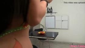 Asian Ass Eaten By Perv Girl