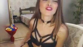 Seductive Brunette, Daliah Cherry Likes To Taste A Rock Hard Dick And Then To Feel It Inside Her