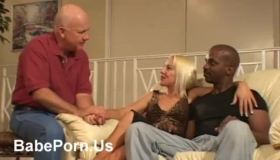 Horny Blonde Slut With Huge Cans Is Sucking A Big, Red Dick And Knowing How To Ride It