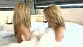 Horny Twins Are Having A Blowbang Orgy In Her Bedroom, During A Home Visit