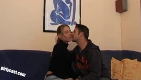 Passionate Woman Is Having Sex In A Public Place, With A Guy Who Has The Most Special Fantasy
