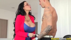 Sensual Amy Anderssen Fucked By A Big Black Cock