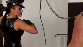 Female Slave At The Chastity Dungeon
