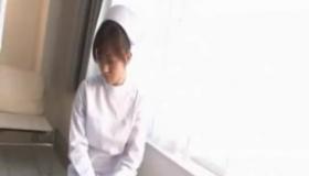 Jap Nurse Momoka On The Chair
