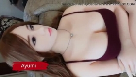Busty Nippon Doll Is Getting A Big Cock In Her Friend's Mouth And Eating Fresh Cum