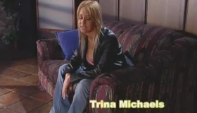 Blonde Woman, Trina Michaels Likes To Suck Her Husband's Huge Cock, For The First Time